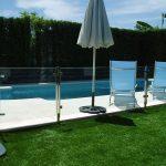 barandilla de cristal para piscinas en sevilla