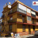arreglo de fachadas de edificios en sevilla