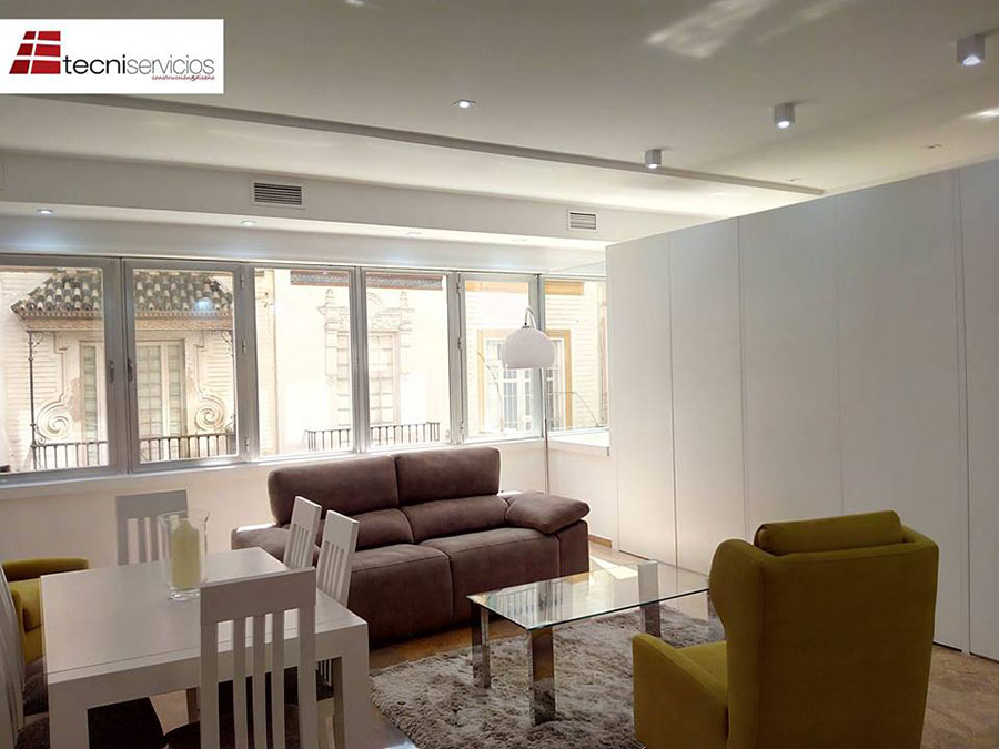 Dise o de interiores en sevilla tecniservicios cuenta con for Diseno de interiores sevilla
