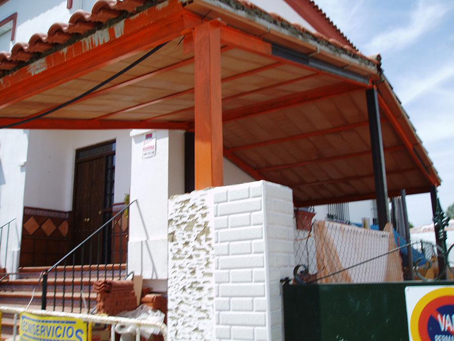 Pergolas para aticos gallery of prgolas de madera ref pp with pergolas para aticos beautiful - Toldos en pontevedra ...
