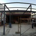 estructuras metálicas para porche en sevilla