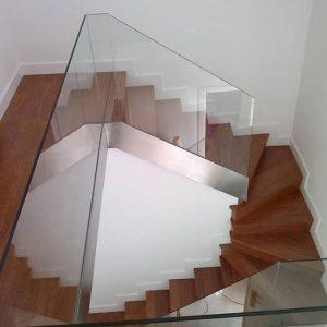 barandillas de cristal en sevilla