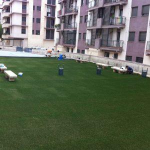 instalación y montaje de cesped artificial en sevilla